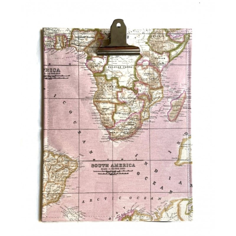 Clipboard Jet Set Travel Pink