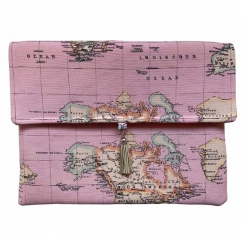 Clutch Jet Set Travel Pink