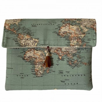 Clutch Jet Set Travel Green