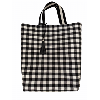 Tote bag Vichy  mini black